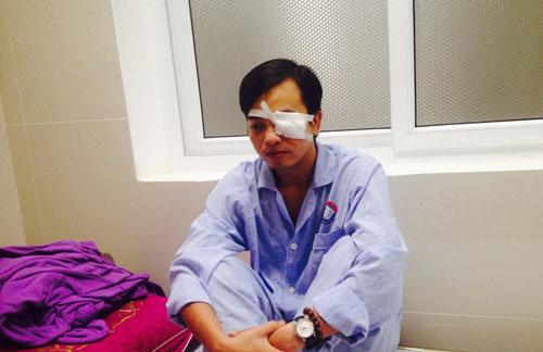 Bác sĩ cấp cứu bị đánh chấn thương sọ não, rách giác mạc