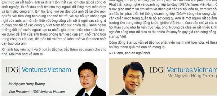 Nguyễn Hồng Trường: Ông anh kín tiếng của startup Việt