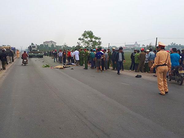 Hai người đàn ông tử vong sau va chạm với xe đầu kéo