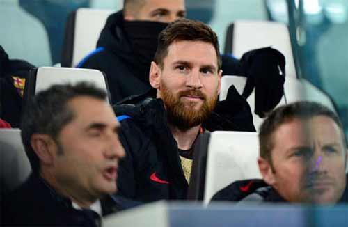 Messi chấp nhận ngồi ghế dự bị vì lợi ích lâu dài