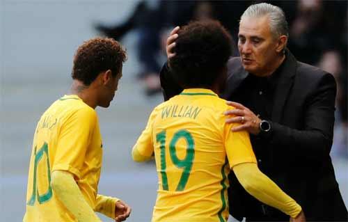 HLV tuyển Brazil tiết lộ bí quyết sử dụng Neymar