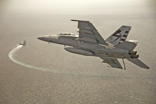 Mỹ cấp tiêm kích hạm F/A-18 cho Ấn Độ