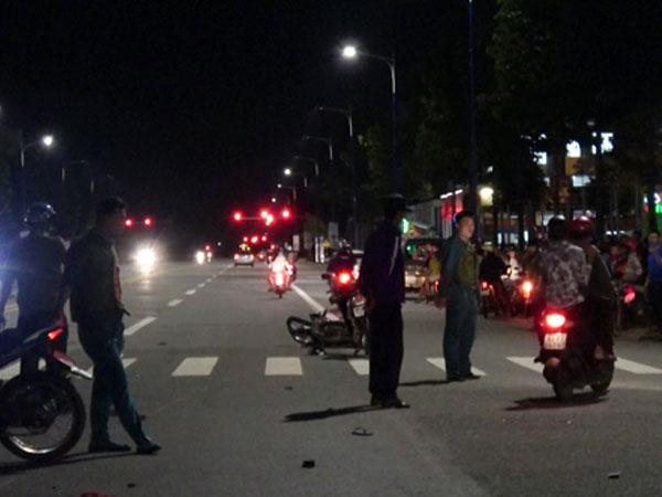 Bỏ chạy sau khi tông chết hai người, ôtô bị truy đuổi