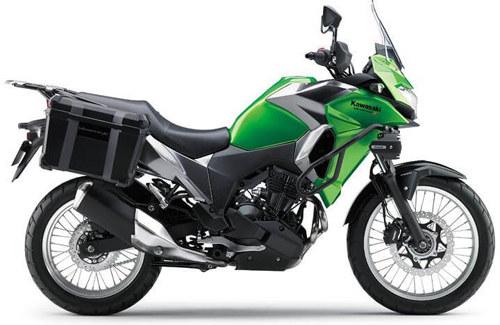 Xế phượt Kawasaki Versys-X 300 trình làng, giá 161 triệu đồng