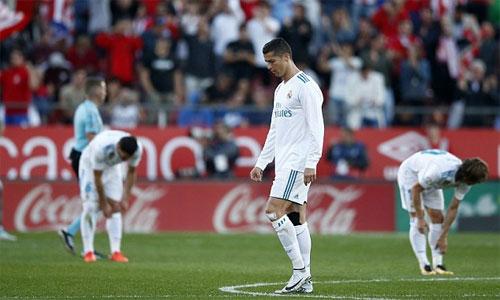 Real thua Girona trong ngày làm khách tại xứ Catalonia