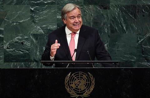 Tổng thư ký Liên Hợp Quốc đưa ra báo động đỏ cho toàn thế giới trong năm 2018