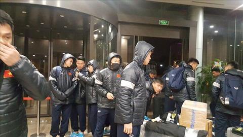 U23 Việt Nam gặp khó vì thời tiết tại Trung Quốc