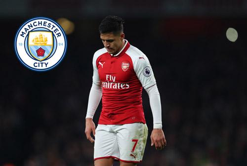 NÓNG: Arsenal rao bán Alexis Sanchez với giá bèo cho Man City
