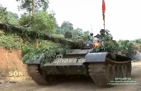 [Infographic] Voi thép T-62 Việt Nam lên báo Trung Quốc