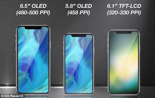 Tranh cãi về tên gọi mới cho iPhone 2018