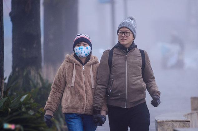 Sa Pa vắng tanh trong giá lạnh 3 độ C