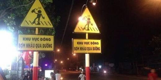 Chỉ ở Sài Gòn mới có những tấm biển báo vừa dễ thương, vừa tưng tửng như thế này thôi