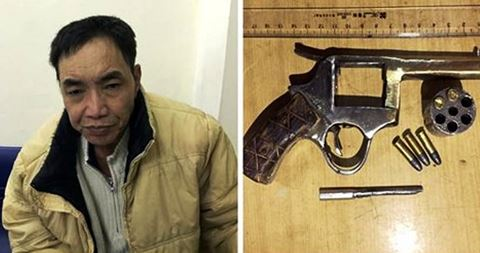 Trùm ma túy đất Cảng mua súng để thị uy khách hàng sa lưới