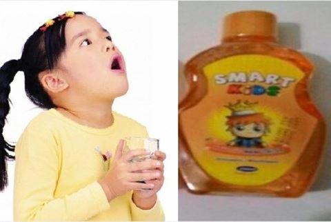 Thu hồi nước súc miệng Smart Kids nhiễm vi sinh vật