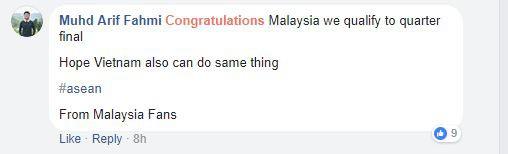 Người hâm mộ Malaysia kêu gọi cổ vũ U23 Việt Nam