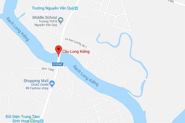 Hiện trường vụ sập cầu khiến ôtô, xe máy rơi xuống sông tại Sài Gòn
