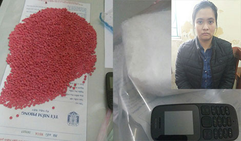 Cô gái 21 tuổi vận chuyển gần 1kg ma túy đá