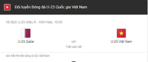 Không khí hừng hực khắp cả nước, tất cả một lòng cổ vũ đội tuyển U23 Việt Nam trước trận bán kết lịch sử với Qatar