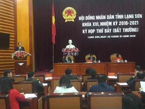 Ông Nguyễn Long Hải trúng cử Phó Chủ tịch tỉnh Lạng Sơn