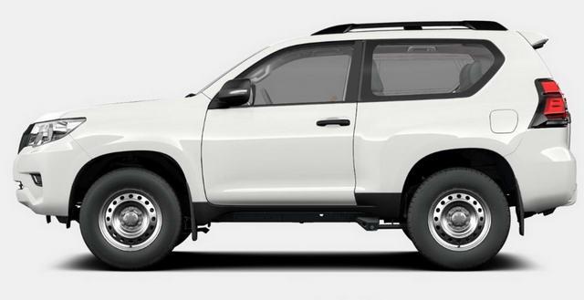 Toyota Land Cruiser rút gọn với 3 cửa, giá 1 tỷ đồng