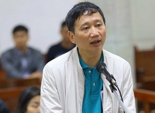 Tòa bất ngờ tạm dừng xử vụ Trịnh Xuân Thanh