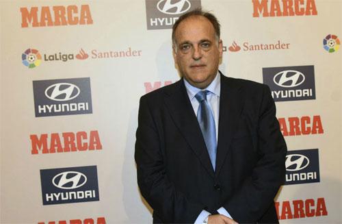 Chủ tịch La Liga chiêu dụ Neymar về cho Real Madrid