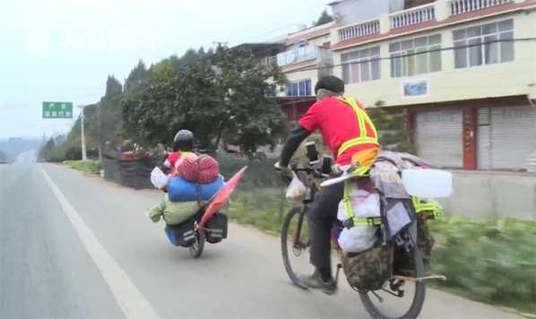 Bé trai 6 tuổi đạp xe đi du lịch cùng bố suốt 25 ngày, chi phí cho cả chuyến đi chưa hết 2 triệu đồng