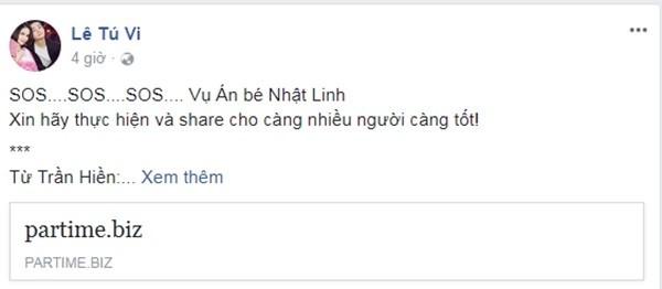 Dàn sao Việt đồng lòng kêu gọi xin chữ ký, đòi lại công bằng cho bé Nhật Linh