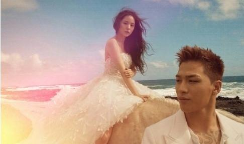 Ca sĩ CL ngã khi khoác áo như chăn lông dự lễ cưới Taeyang (Big Bang)