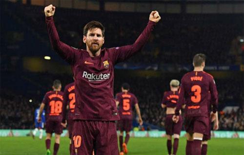 Messi giải lời nguyền mang tên Chelsea