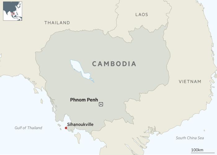 Làn sóng khách đánh bạc Trung Quốc gây căng thẳng ở Sihanoukville