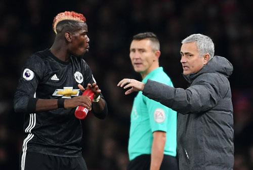 SỐC: Pogba đòi M.U sa thải HLV Mourinho