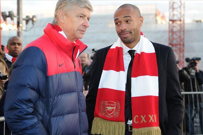 Thierry Henry thừa nhận mơ ước được thay thế Wenger tại Arsenal