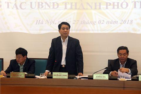 Chủ tịch Hà Nội: Phải nêu đích danh cán bộ cố tình om hồ sơ