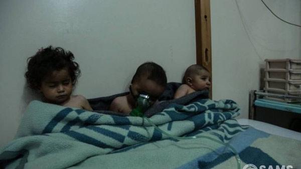 Những hình ảnh nhói lòng ở địa ngục trần gian Syria