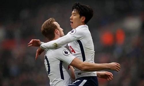 Son Heung-min lập cú đúp, Tottenham cách Man Utd một điểm