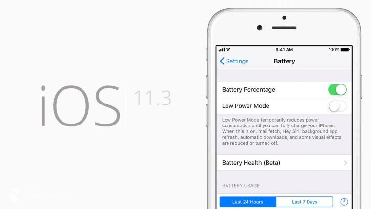 Cận cảnh cài đặt Battery Health trên iOS 11.3 cho phép tinh chỉnh hiệu năng CPU
