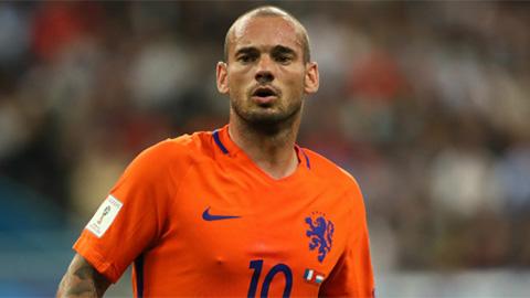 Sneijder giã từ ĐT Hà Lan