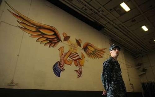 USS Carl Vinson, tàu sân bay đại bàng vàng của hải quân Mỹ