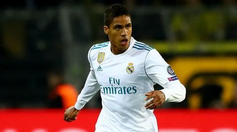 M.U chi 60 triệu bảng mua trung vệ của Real Madrid