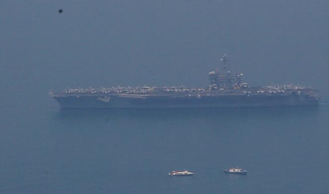 Người Đà Nẵng khó có cơ hội ngắm tàu sân bay USS Carl Vinson