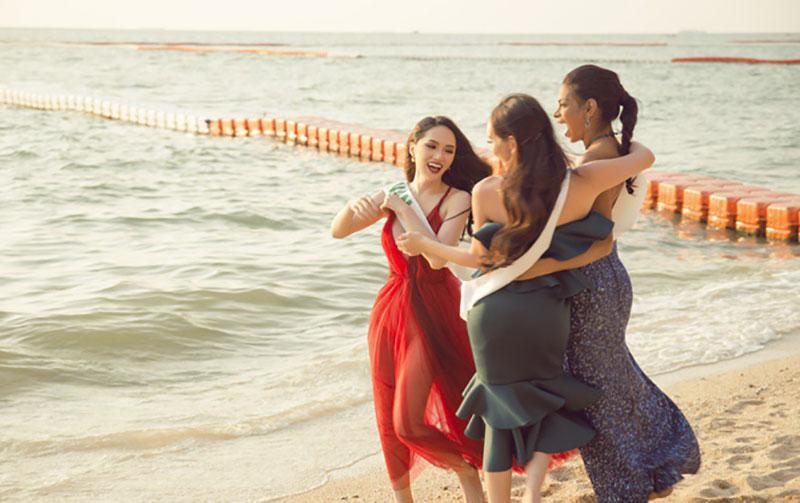 Ngắm nhan sắc của Hương Giang trong những chặng cuối của Hoa hậu Chuyển giới Quốc tế 2018