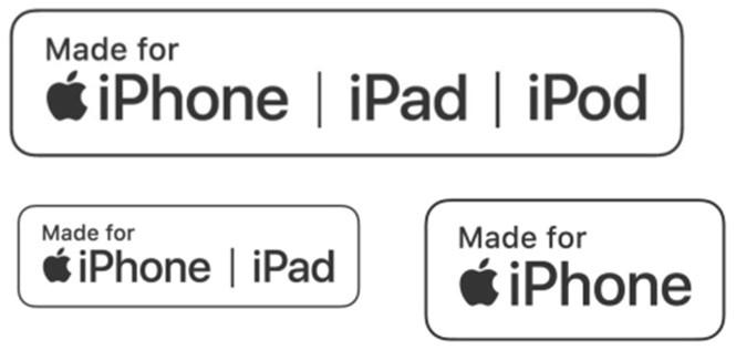 Apple công bố logo mới cho các sản phẩm bên thứ ba