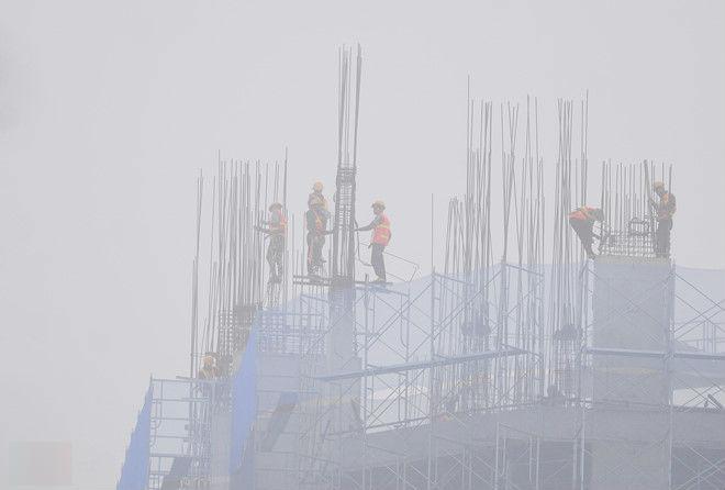 Vịnh Bắc Bộ chìm trong sương mù