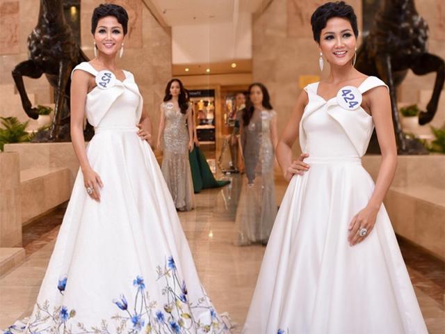 Đăng quang không lâu, Hoa hậu HHen Niê đã có BST đồ trắng chất ngất