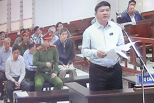 Ông Đinh La Thăng: Tôi không giấu tội