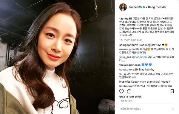 Thêm thông tin mới nhất về chuyến đi đến Việt Nam của Kim Tae Hee