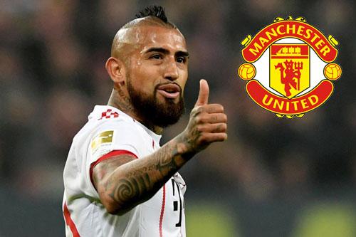 HLV Mourinho dùng bom tiền tậu Vidal thay Carrick