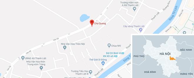 Chủ tiệm vàng ở chợ Quang báo mất 200 triệu trong lúc hỗn loạn