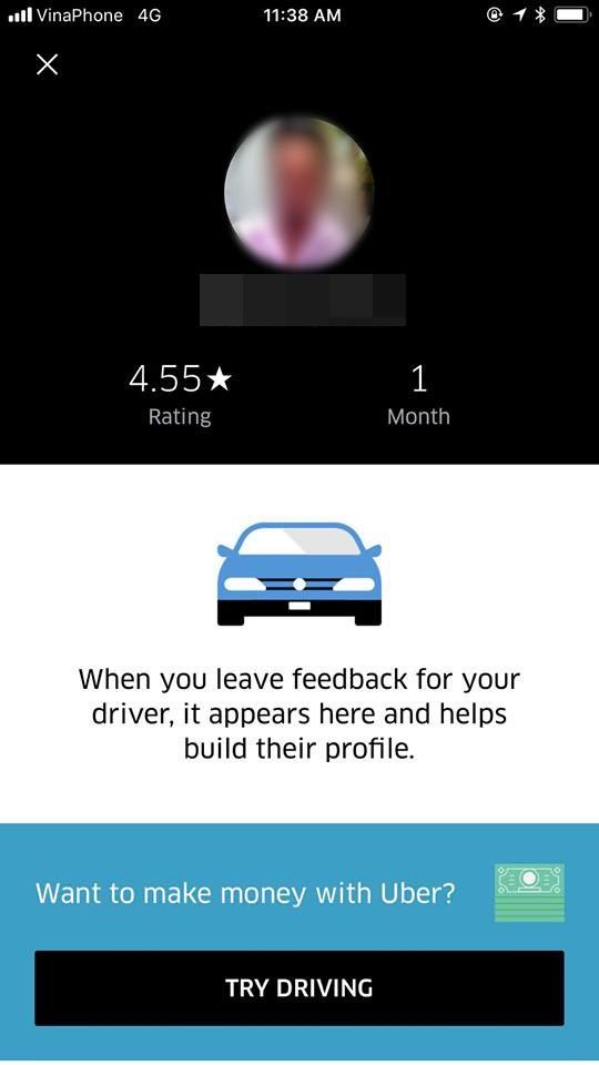 Siêu mẫu Hà Anh bức xúc vì bị tài xế Uber đuổi xuống xe, vứt hành lý ra đường: Uber sáp nhập Grab rồi, chúng tôi không cần khách nữa